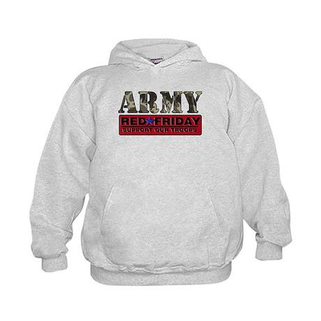 Red Friday Army Kids Hoodie
