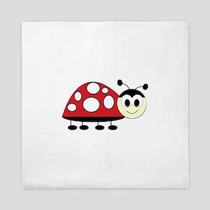 Ladybug Queen Duvet