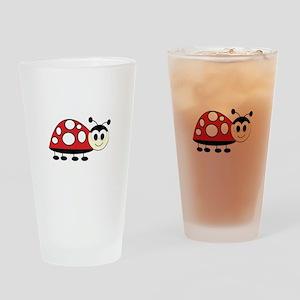 Ladybug Drinking Glass