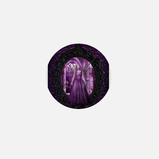 Lavender Fairy Mini Button