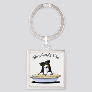 Shepherds Pie Square Keychain