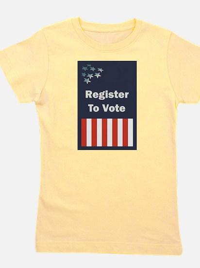 Register to Vote Girl's Tee