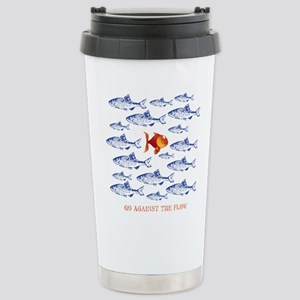 11x11_pillowAgainsttheFlow1 Travel Mug