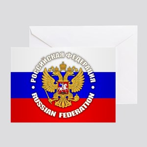 Russian Federation Greeting Cards