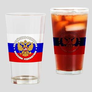 Russian Federation Drinking Glass