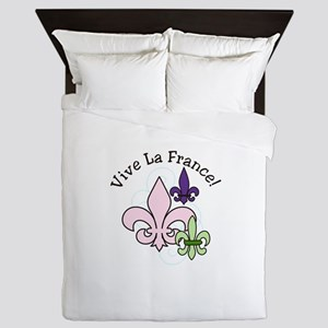 Vive La France! Queen Duvet