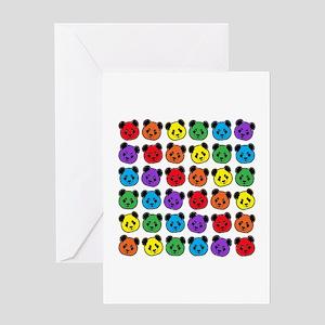 all bear pattern Greeting Card
