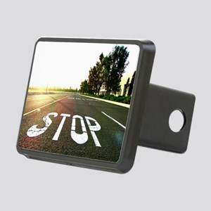 Stop Rectangular Hitch Cover