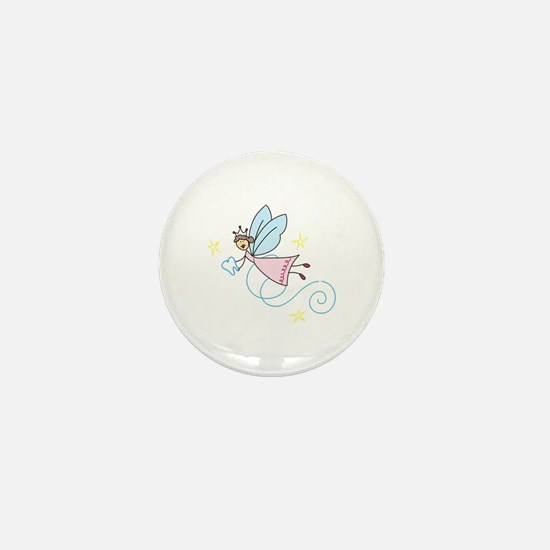 Tooth Fairy Mini Button