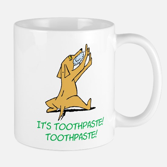Cartoon Rabid Dog Mug