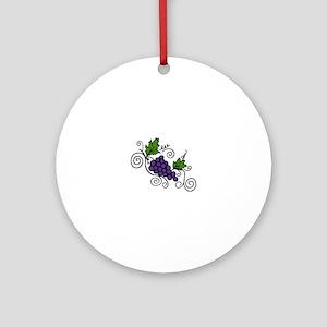 Grape Vines Ornament (Round)