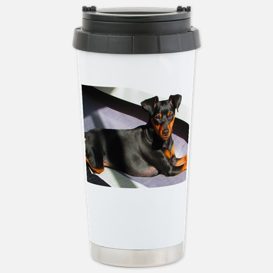 Min Pin Stainless Steel Travel Mug