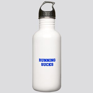 running-sucks-FRESH-BLUE Water Bottle