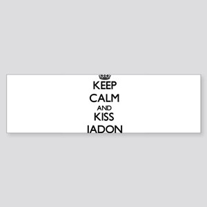 Keep Calm and Kiss Jadon Bumper Sticker