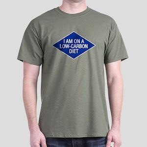 Low Carbon Diet Dark T-Shirt