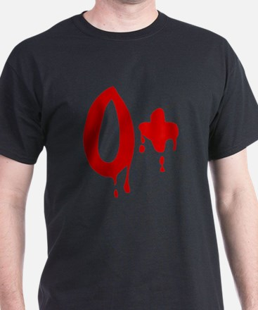 Blood Type O+ Positive T-Shirt