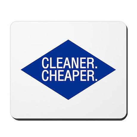 Cleaner / Cheaper Mousepad