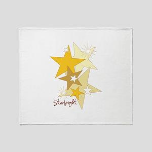 Starbright Stars Throw Blanket