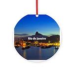 Rio de Janeiro Ornament (Round)