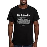 Rio de Janeiro Men's Fitted T-Shirt (dark)