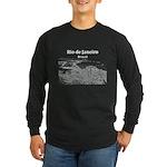 Rio de Janeiro Long Sleeve Dark T-Shirt