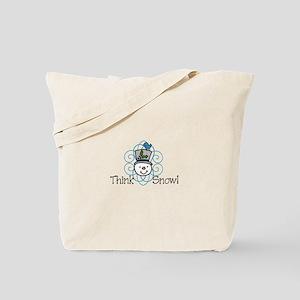 Think Snow! Tote Bag