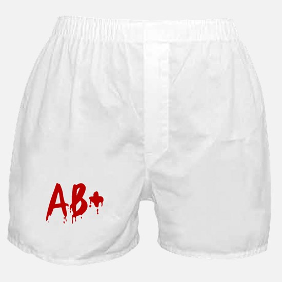 Blood Type AB+ Positive Boxer Shorts