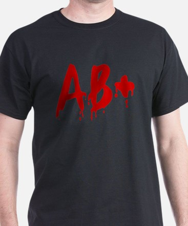 Blood Type AB+ Positive T-Shirt
