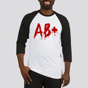 Blood Type AB+ Positive Baseball Jersey
