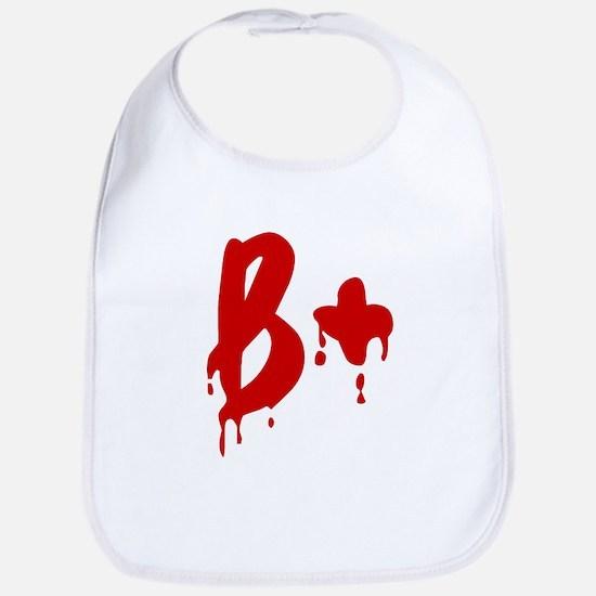Blood Type B+ Positive Bib
