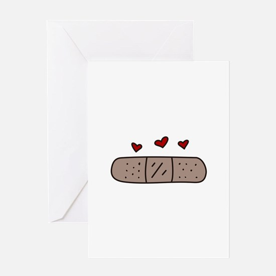 Band Aid Greeting Cards