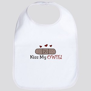 Kiss My Owie Bib