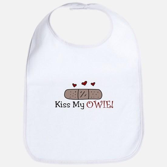 Kiss My Owie Bib