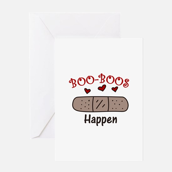 Boo Boos Happen Greeting Cards
