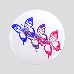 """Bisexual Butterfly 3.5"""" Button"""