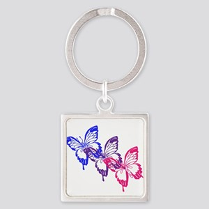 Bisexual Butterfly Keychains