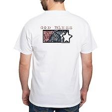 Christian Tie Dye White T-Shirt