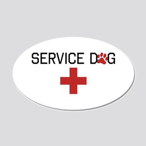 Service Dog Wall Decal