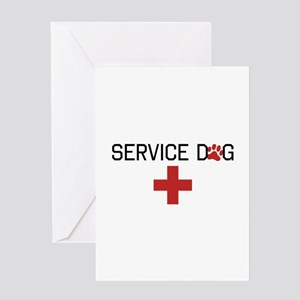 Service Dog Greeting Cards