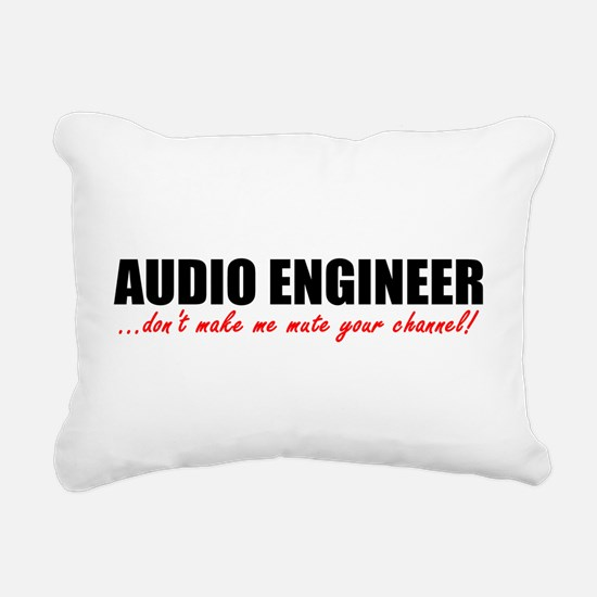 Mute Your Channel Rectangular Canvas Pillow