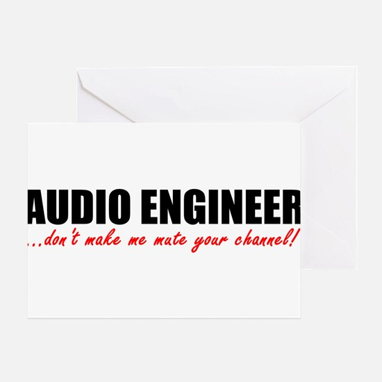 Mute Your Channel Greeting Card