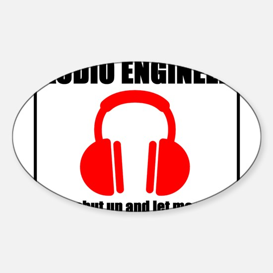 Let Me Mix Sticker (Oval)