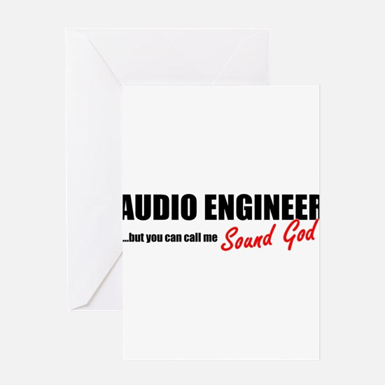 Sound God Greeting Card