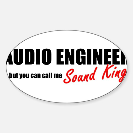 Sound King Sticker (Oval)