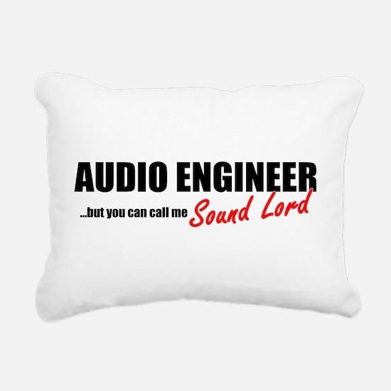 Sound Lord Rectangular Canvas Pillow