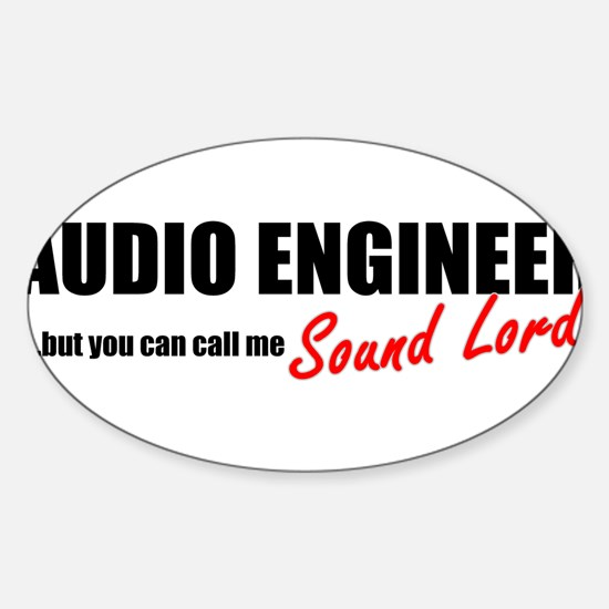 Sound Lord Sticker (Oval)