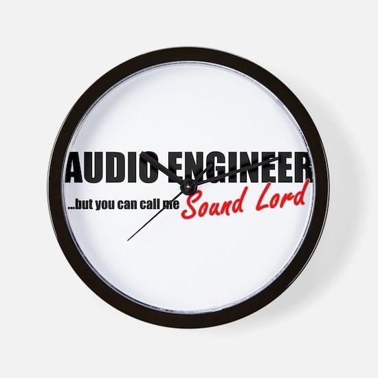 Sound Lord Wall Clock