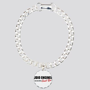 Sound Queen Charm Bracelet, One Charm