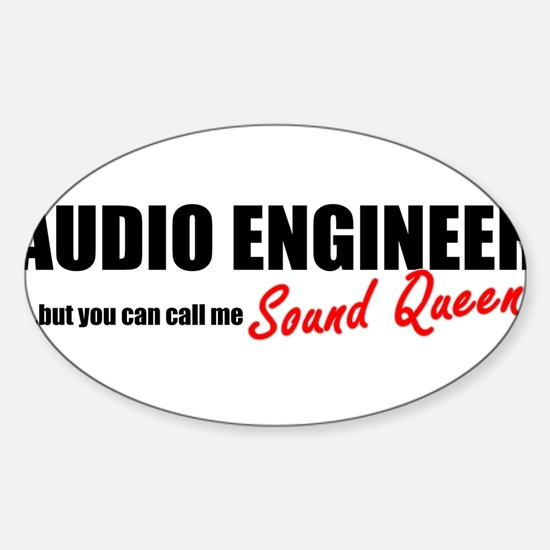 Sound Queen Sticker (Oval)