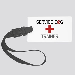 Service Dog Trainer Luggage Tag
